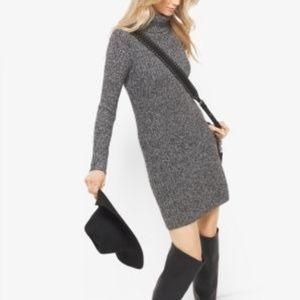 Michael Kors Wool Blend Sweater Dress - XS